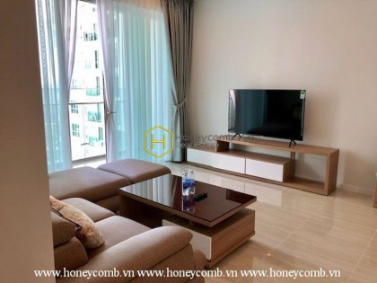 Fully-furnished apartment with simplified design for rent in Sala Sadora