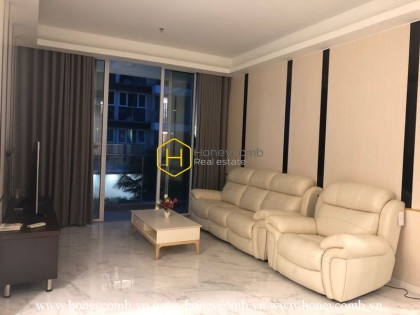 Spacious living space apartment with modern furnishings for rent in Sala Sarica
