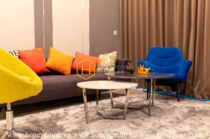 Affordable apartment in Sala Sarimi for lease: Colorful appearance, Lively living space