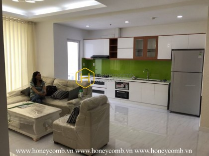 Fully-furnished apartment with all fresh and new furnishings for rent in Tropic Garden