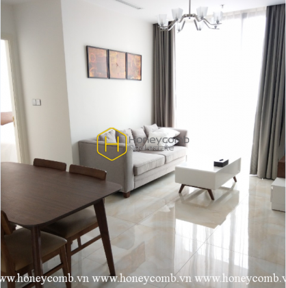 Be ready to fall in love with this pure-white theme apartment in Vinhomes Golden River