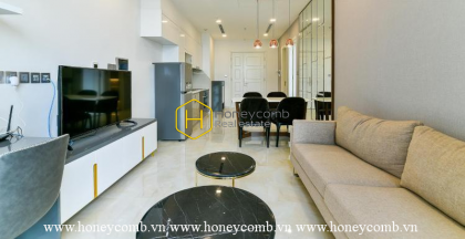 Comtemporary apartment with modern way of designing for lease in Vinhomes Golden River