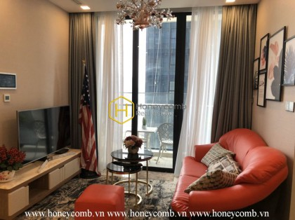 Beautifully decorated apartment located in Vinhomes Golden River for rent