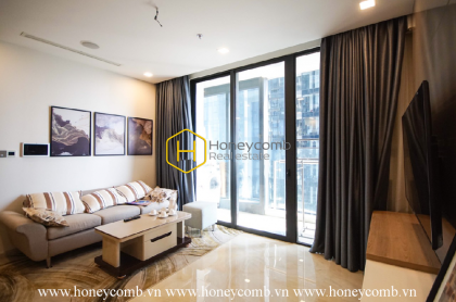 The 2 bedrooms apartment with Korean style is very special in Vinhomes Golden River