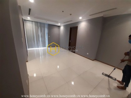 Unfurnished apartment in Vinhomes Central Park – Let personalize your own home!