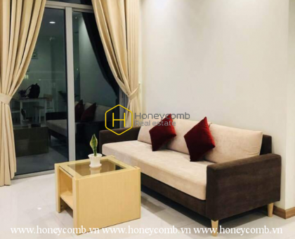 Comtemporary design apartment for rent in Vinhomes Central Park
