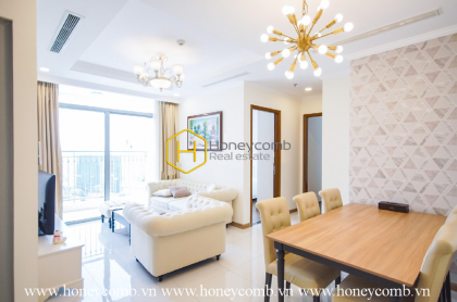 Beautiful in WHITE- Pure and elegant apartment in Vinhomes Central Park
