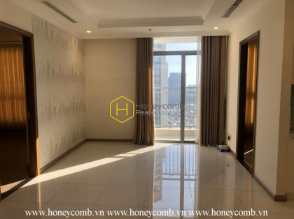 Free your creativity with unfurnished apartment in Vinhomes Central Park for lease
