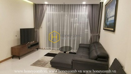 Old-fashioned design apartment with must have amenities in Vinhomes Central Park for rent