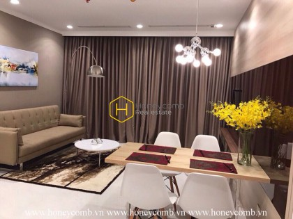 Beautifully designed apartment for rent in Vinhomes Central Park