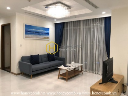 Modern architecture apartment with stunning views for rent in Vinhomes Central Park