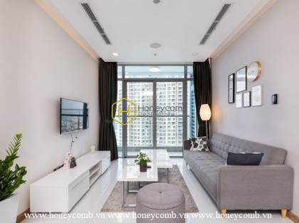 Beautifully decorated apartment with stunning design for lease in Vinhomes Central Park