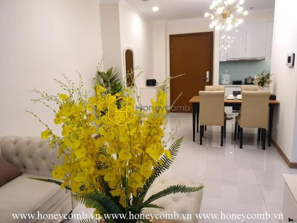 Extraordinary 1 bedroom apartment in Vinhomes Central Park for rent
