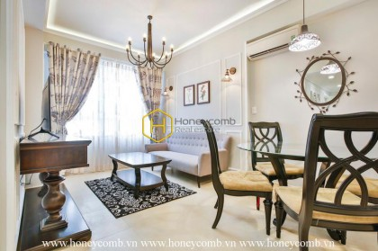 Masteri apartment for rent with luxury interior and great living space