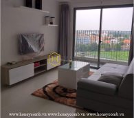 2 bedrooms apartment at low floor in Masteri Thao Dien for rent