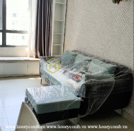 Căn hộ với không gian ấm cúng cùng cách bài trí đơn giản cho thuê tại Masteri Thảo Điền