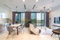 Embracing the spectacular river view from sophisticated apartment in Vinhomes Golden River