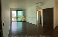Brand new apartment is waiting for you to decorate at D'edge Thao Dien