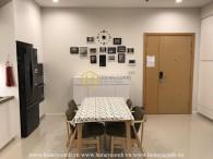 Căn hộ 2 phòng ngủ với thiết kế cực kì hiện đại cho thuê tại Sala Sarimi