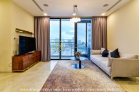 Let's discover this elegant and fully fitted apartment for rent in Vinhomes Golden River