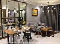 Elegantly designed 1 bedrooms apartment in Vinhomes Central Park for rent