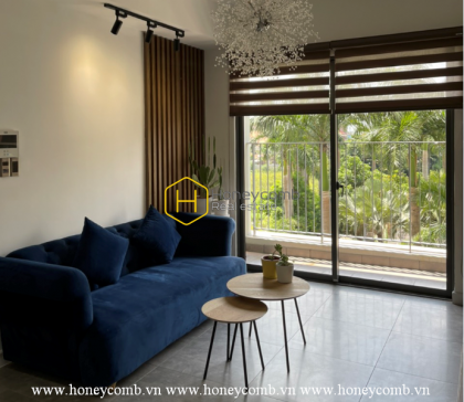 No doubt when this Masteri Thao Dien apartment is recognized as one of the most beautiful apartments in Saigon