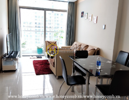 Let's take a trip this new and fully fitted apartment for rent in Vinhomes Central Park