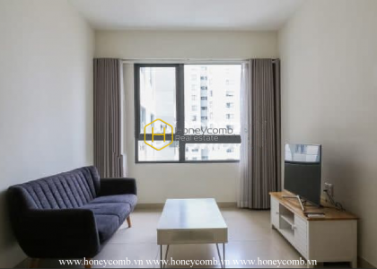 The cozy and spacious 1 bedroom-apartment from Masteri Thao Dien