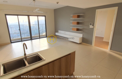 How do you feel about this spacious and airy 3 bed-apartment from Masteri Thao Dien ?