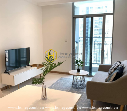 A super cool design in Vinhomes Central Park apartment express your style