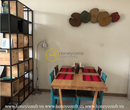 Simple decorate with 1 bedroom apartment in Vinhomes Central Park