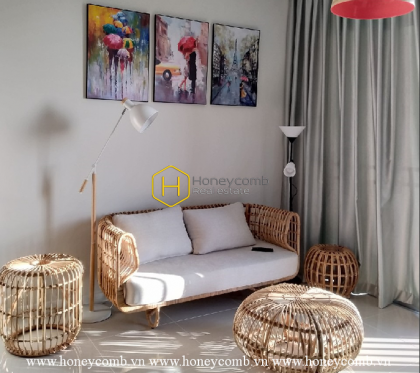 Palm Heights apartment: A special art product of creation