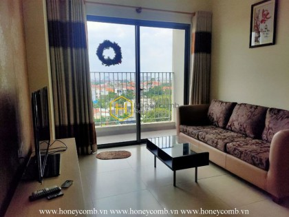 2 bedrooms apartment with kitchen closed in Masteri Thao Dien