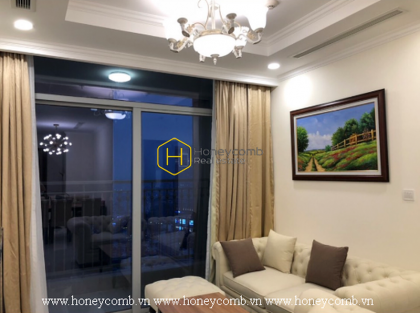 You will be fascinated by this extraodinary furnished apartment in Vinhomes Central Park