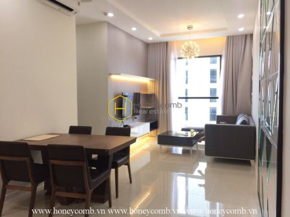 Nice designed apartment two bedroom with modern style in The Ascent for rent