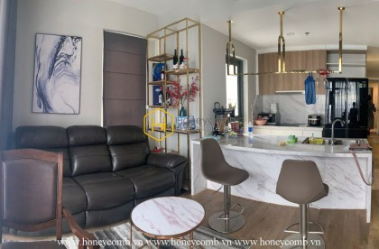 A delicate 2-bedroom apartment in Masteri An Phu. Best choice ever!
