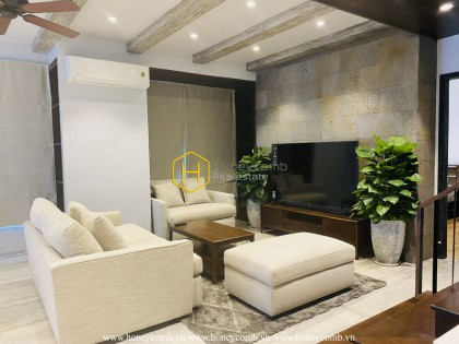 Upgrading your life standard in this glamorous penthouse in Masteri Thao Dien