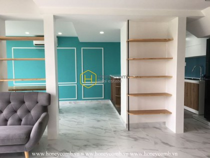 Duplex 4 bed-apartment  with luxury design will become a perfect choice for you at Masteri Thao Dien