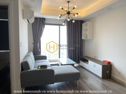 Good furnished 2-bedrooms apartment in Masteri Thao Dien for rent