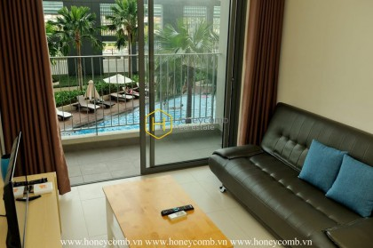 The cozy apartment in Masteri Thao is still available for rent !