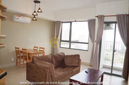 Good price! 2 beds apartment with high floor for rent in Masteri Thao Dien