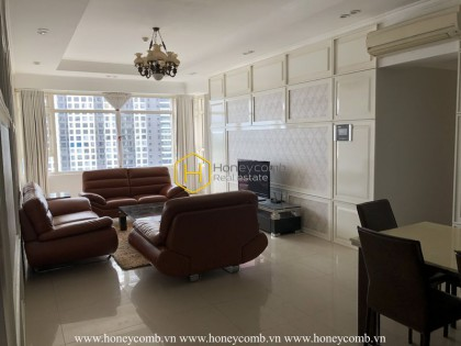 Saigon Pearl apartment: a delicate beauty that can not be resisted