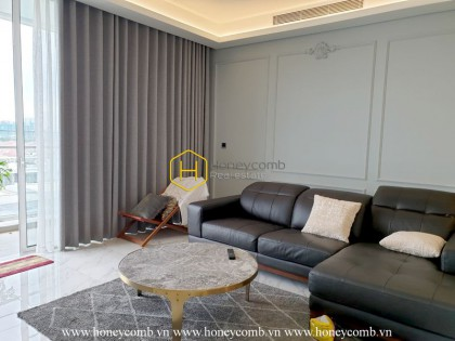No suspicion as this Sala Sarica apartment is one of the most worth living space in Saigon