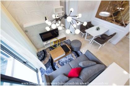 Innovative design apartment for rent in Vinhomes Golden River