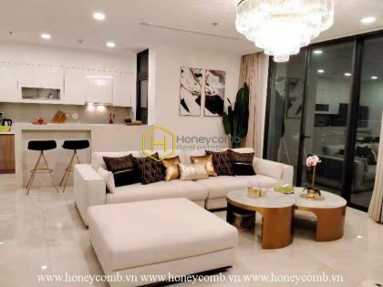 Double amenities with the most modern luxury apartment for rent in Vinhomes Golden River