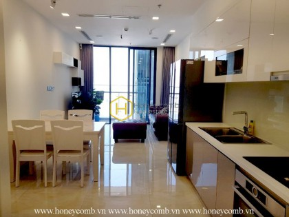 Feel the sweetness in the design of Vinhomes Golden River apartment for rent