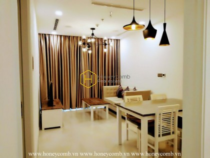Let's take a trip this new and fully fitted apartment for rent in Vinhomes Golden River