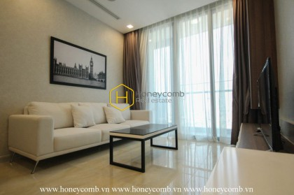Take a look at this particular Vinhomes Golden River apartment for rent