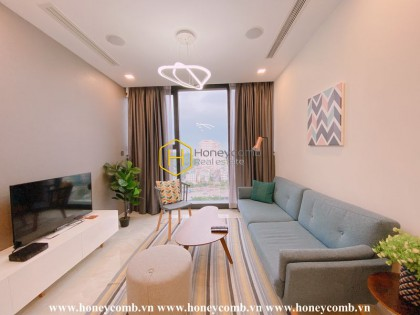 If you have a love of nature, take this green Vinhomes Golden River apartment