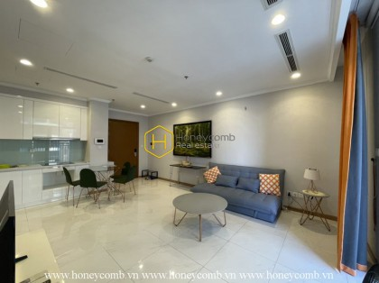 The 1 bed-apartment with smart and elegant design from Vinhomes Central Park